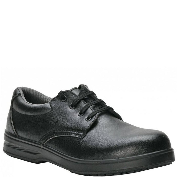 Portwest Shoe 4 Eyelet Washable Black