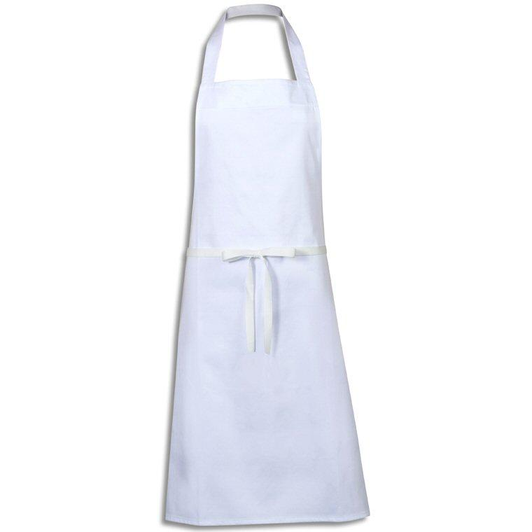 Oliver Harvey White Bib Apron