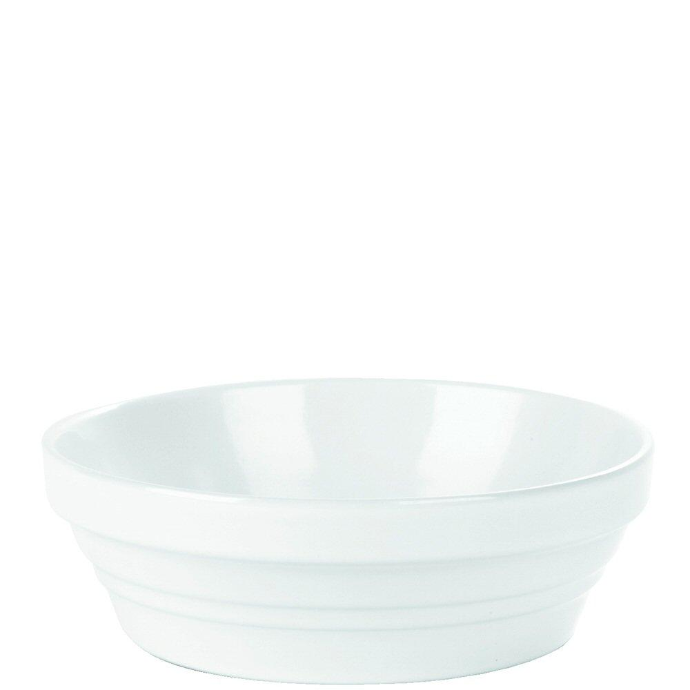 White Round Baking Dish