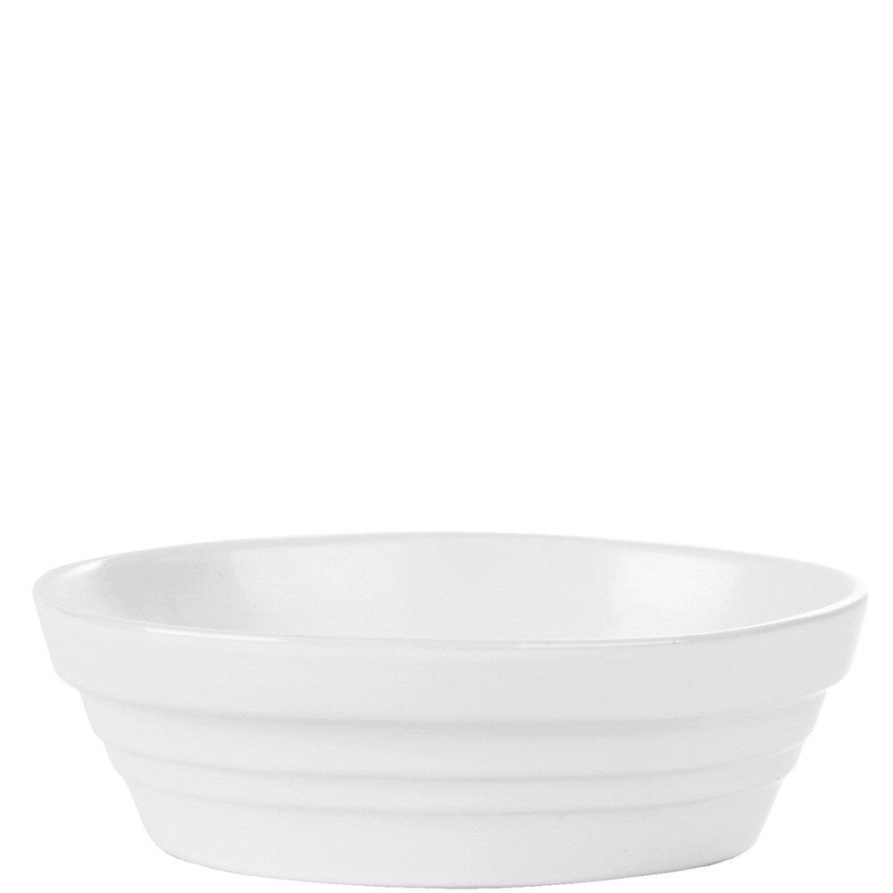 White Oval Baking Dish