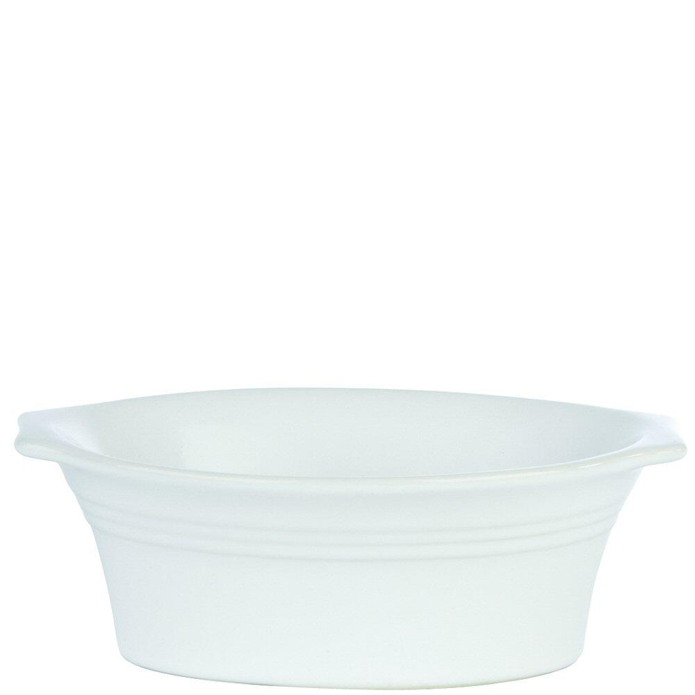 White Oval Pie Dish