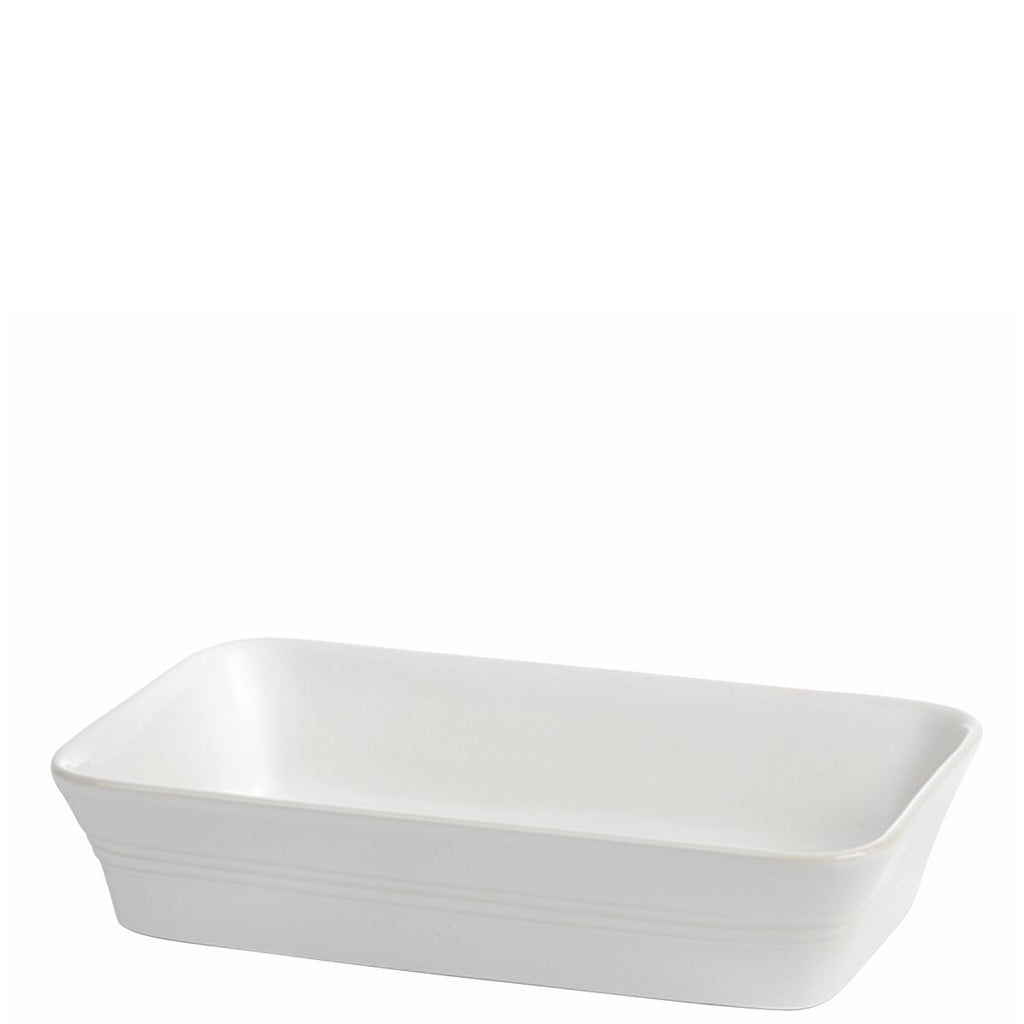 White Rectangular Baking Dish