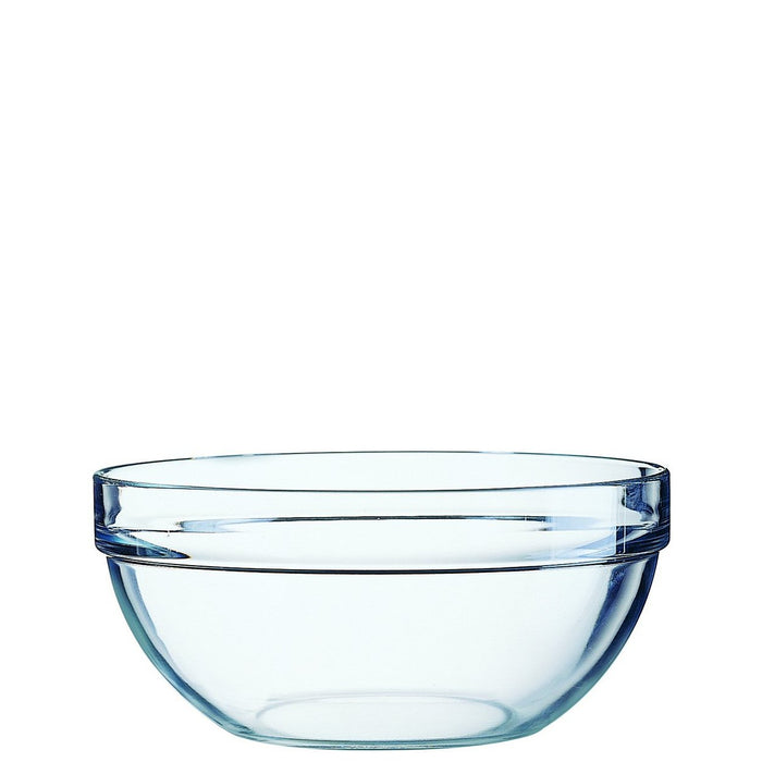 Arcoroc Toughened Glass Stacking Mixing Bowls