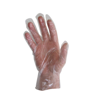 Disposable Polythene Gloves Clear