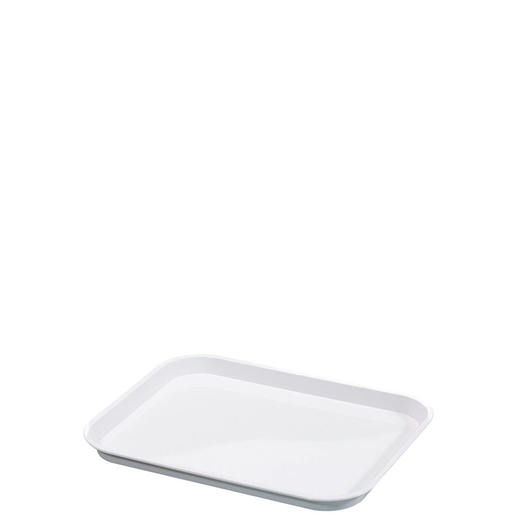 White Food Display Tray Standard