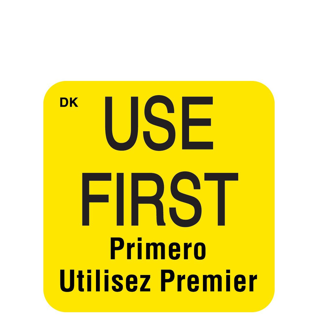 DayMark Permanent Use First Label