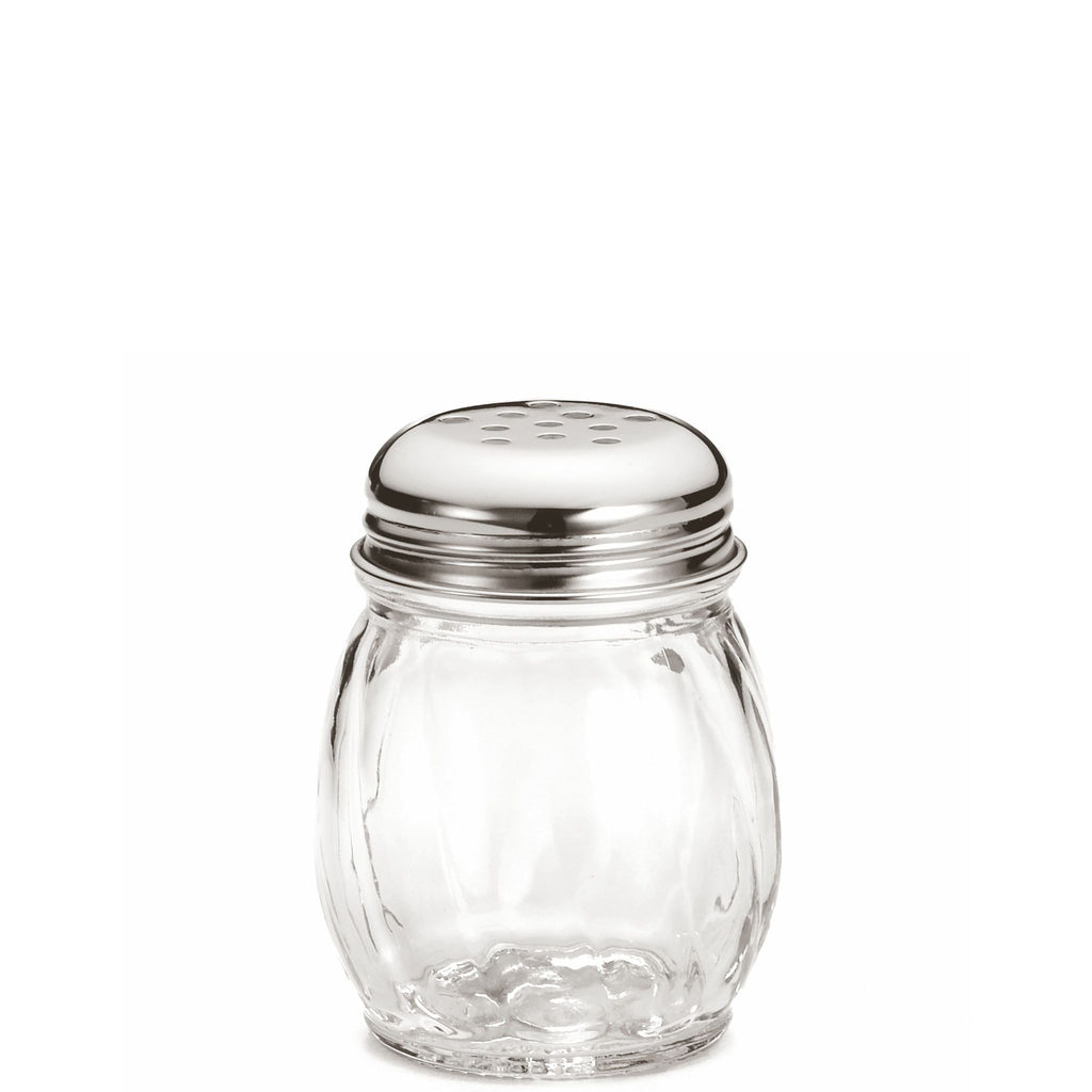 Swirl Glass Parmesan Cheese Shaker
