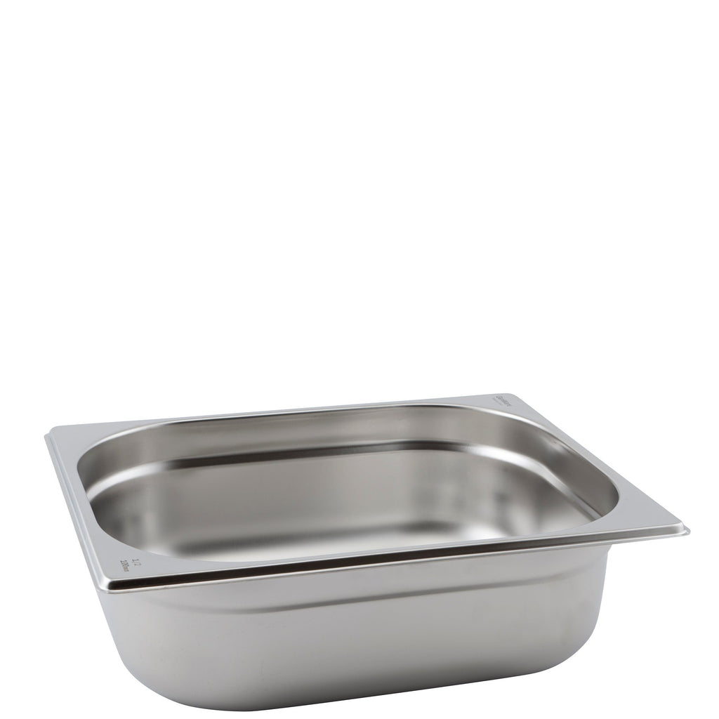 Stainless Steel 1/2 Gastronorm Pan