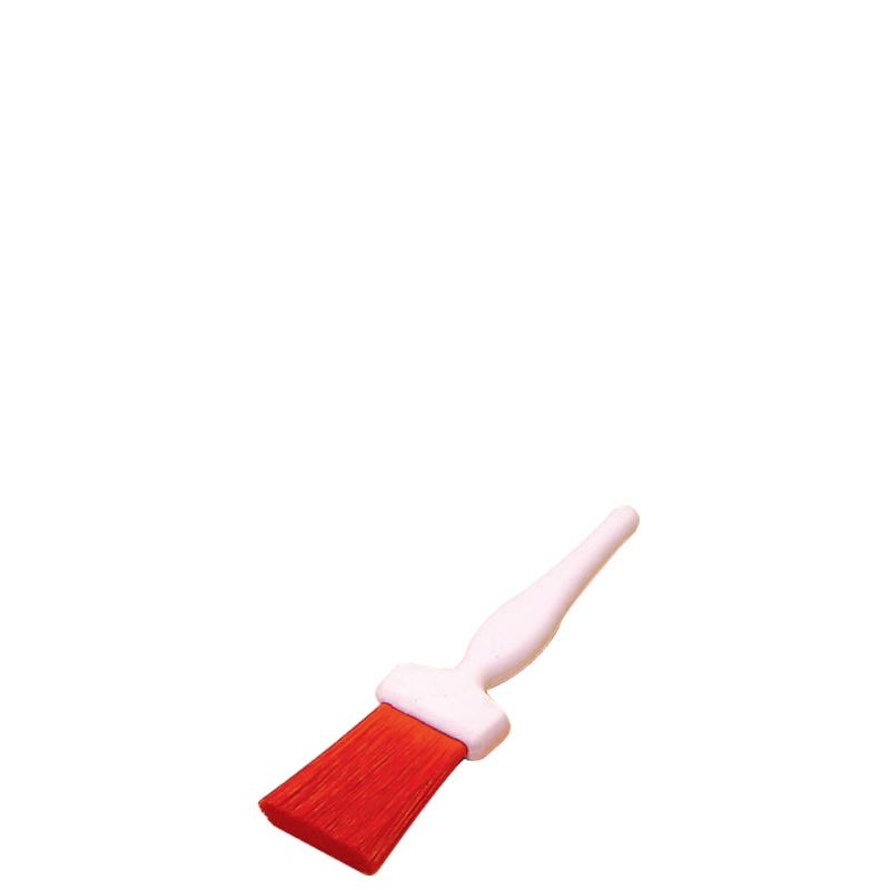 Pastry Brush Red Resin Set 2.5cm