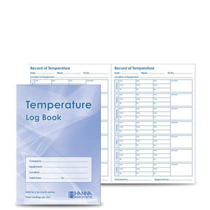 Food Temperature Log Book
