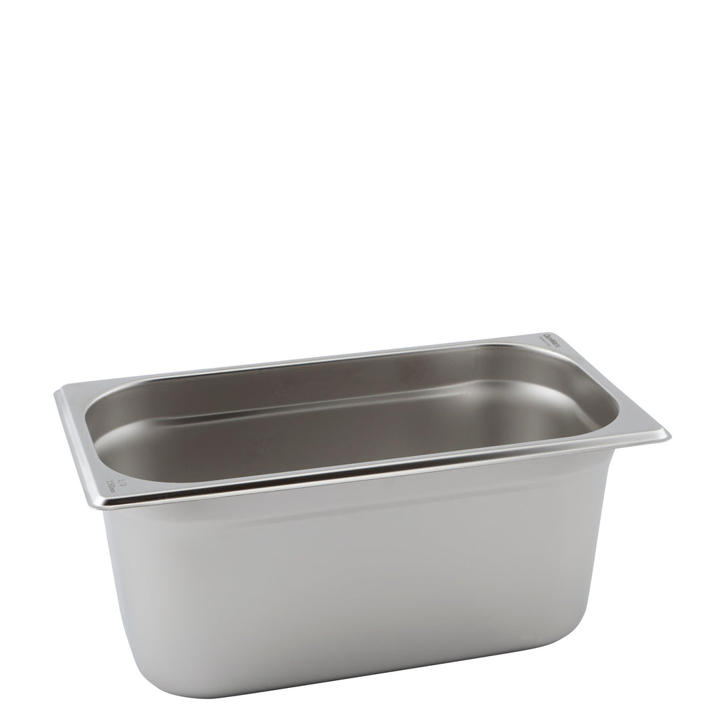 Stainless Steel 1/3 Gastronorm Pan