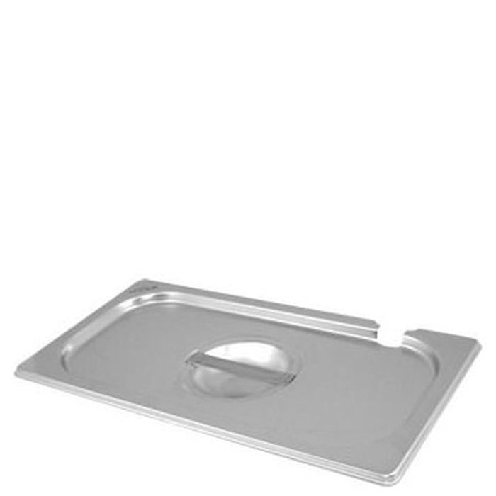Lid with Notch for Stainless Steel Gastronorm Pans