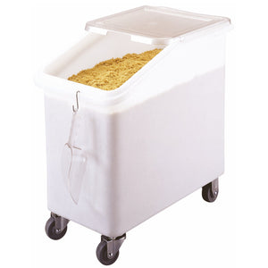 Cambro 102 litre Slant Top Mobile Ingredients Bin