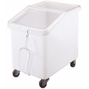 Cambro 140 litre Slant Top Mobile Ingredients Bin
