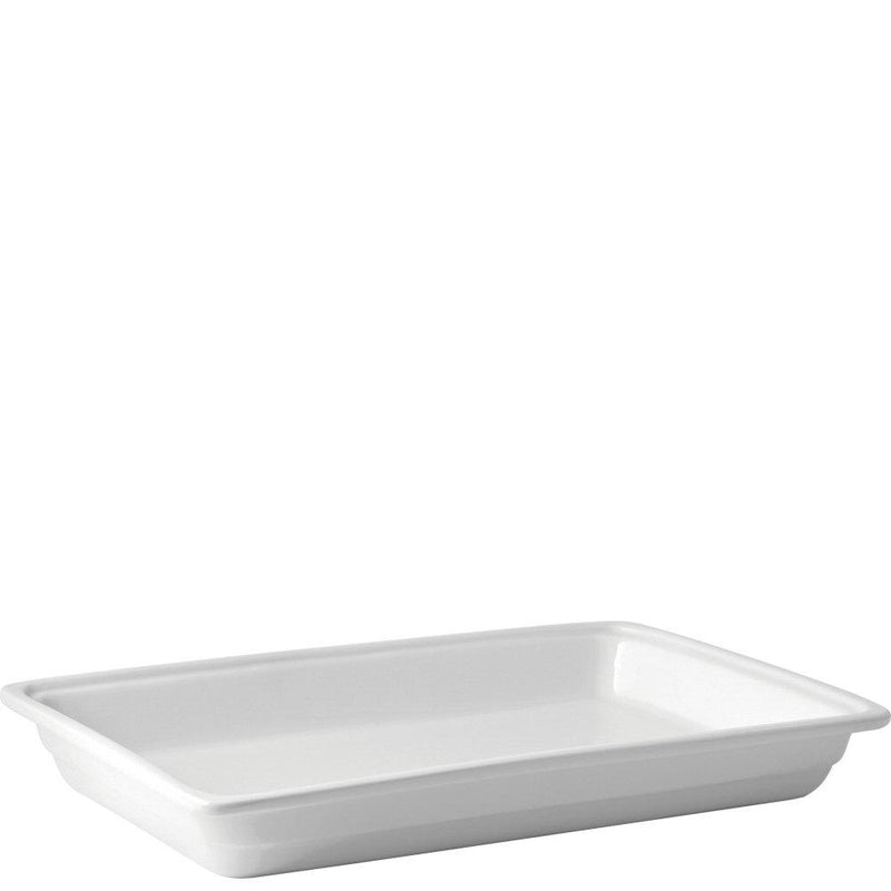 Porcelain Gastronorms White Bidfood Catering Equipment