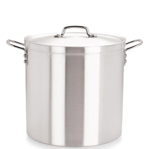 Medium Duty Aluminium Stockpot with Lid