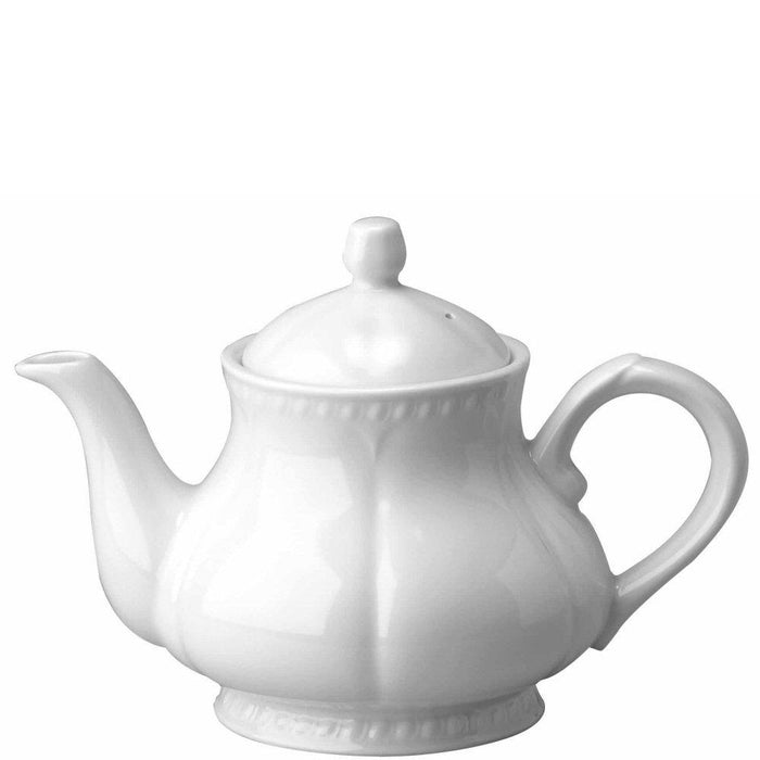 Churchill Buckingham White Teapot