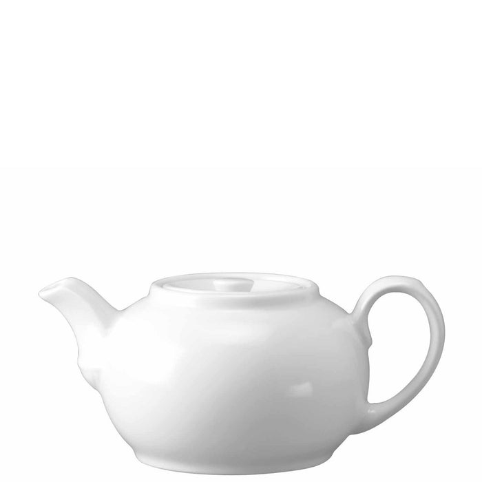 Churchill White Nova Teapot