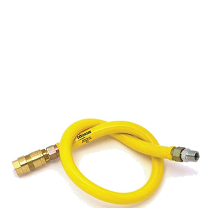 Dormont 1/2 inch x 1000mm Gas Hose
