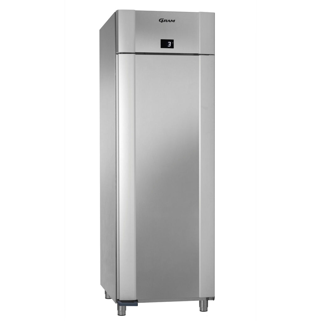 Gram Eco 610 litre Fridge Stainless Steel K70CCG