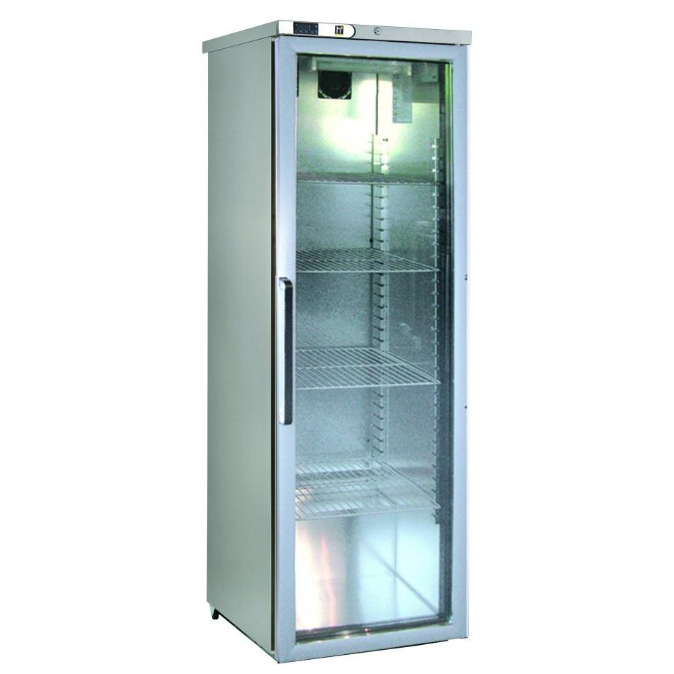 HD 400 litre Fridge Slimline Glass Door HD415G
