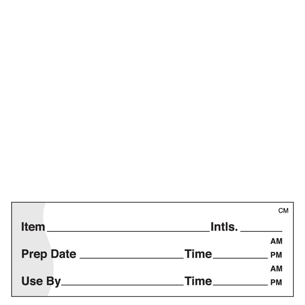 DayMark Freezable Prep Date & Use By Label