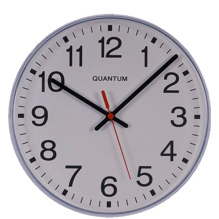 Quartz Battery Powered Wall Clock 10""