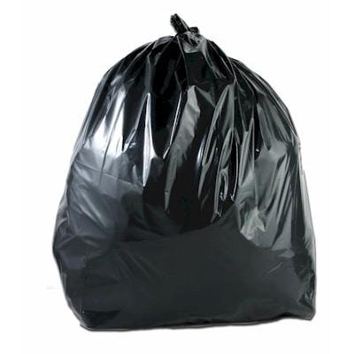 Heavy Duty Black Refuse Sack 15kg