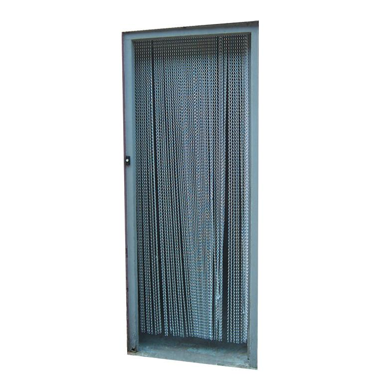 Fly Screen Door Chain UC1 Silver