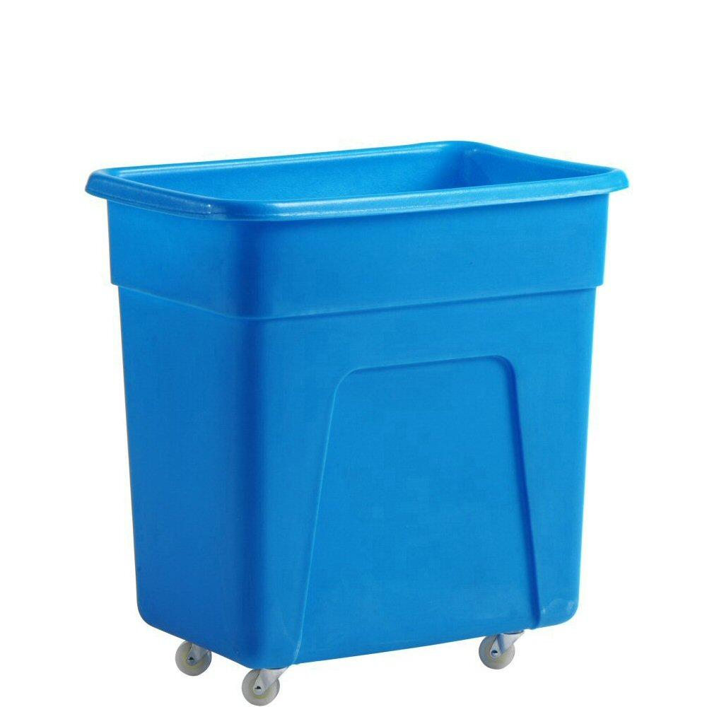 Blue Bottle Skip 125 litre 66x47x69cm Heavy Duty
