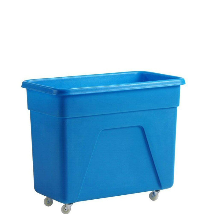 Blue Bottle Skip 160 litre 81x45x67cm Heavy Duty