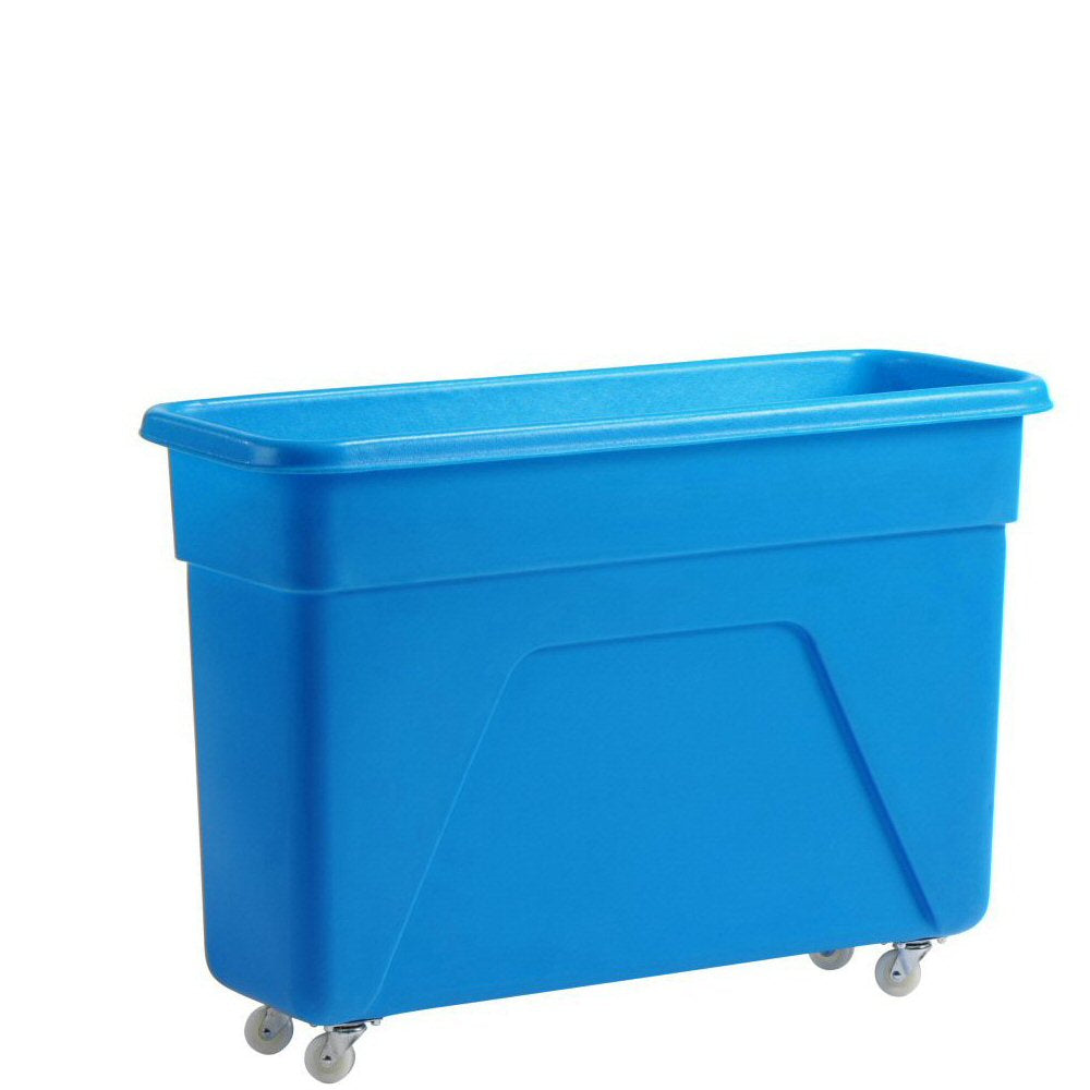 Blue Bottle Skip 160 litre 97x36x67cm Heavy Duty