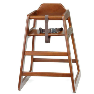 EU Compliant Unassembled Wooden High Chair