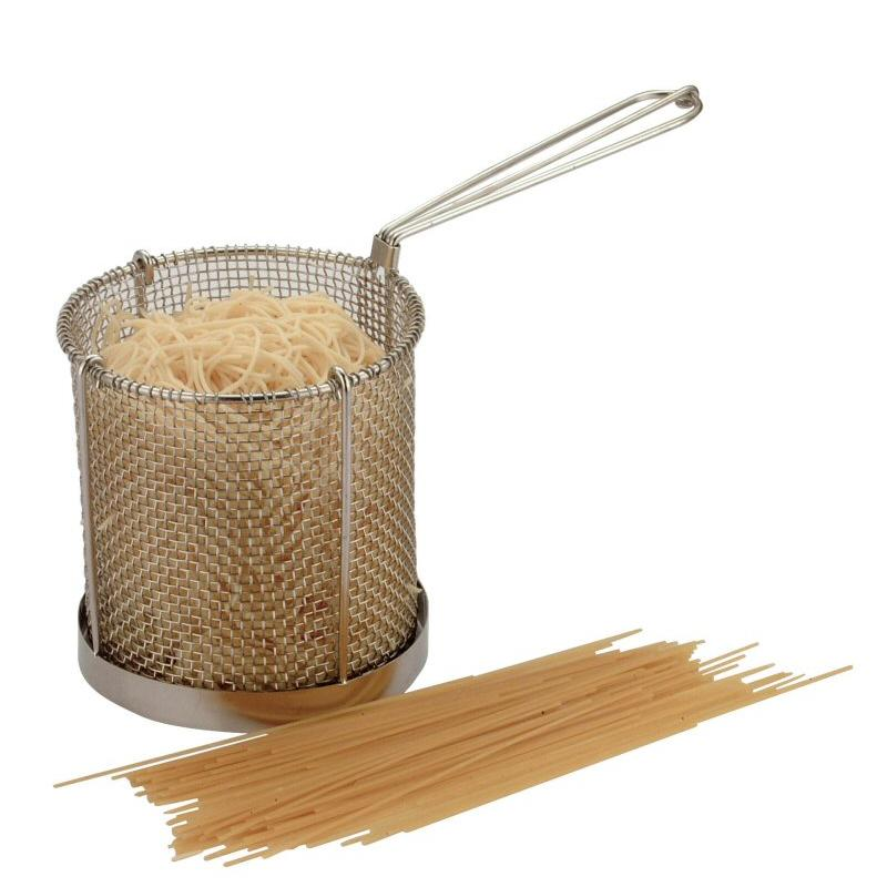 Spaghetti/Blanching Basket Stainless Steel