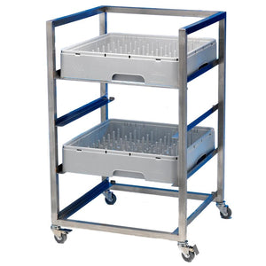 Dishwasher Basket Trolley 4 Tier Stainless Steel