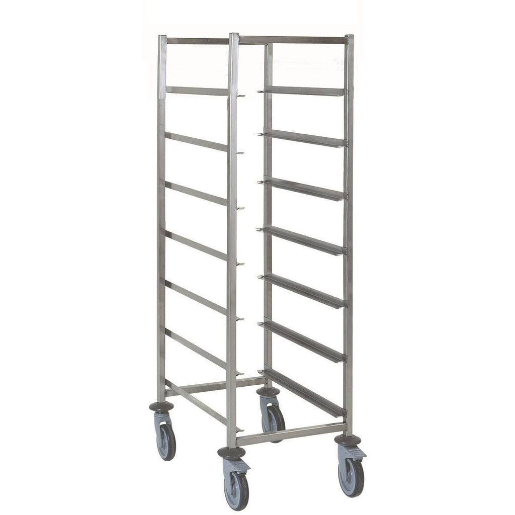 Dishwasher Basket Trolley 7 Tier Stainless Steel