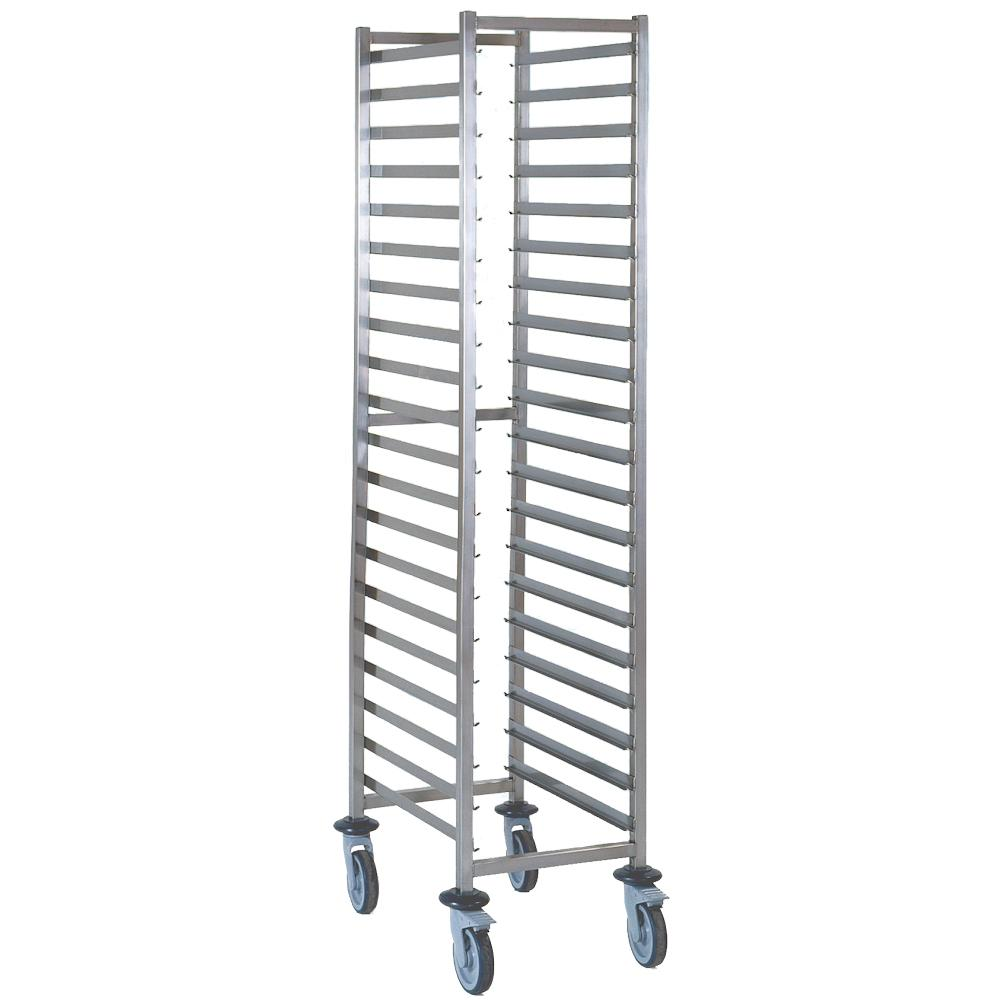 1/1 Gastronorm Trolley 15 Tier Stainless Steel