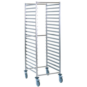 2/1 Gastronorm Trolley 15 Tier Stainless Steel