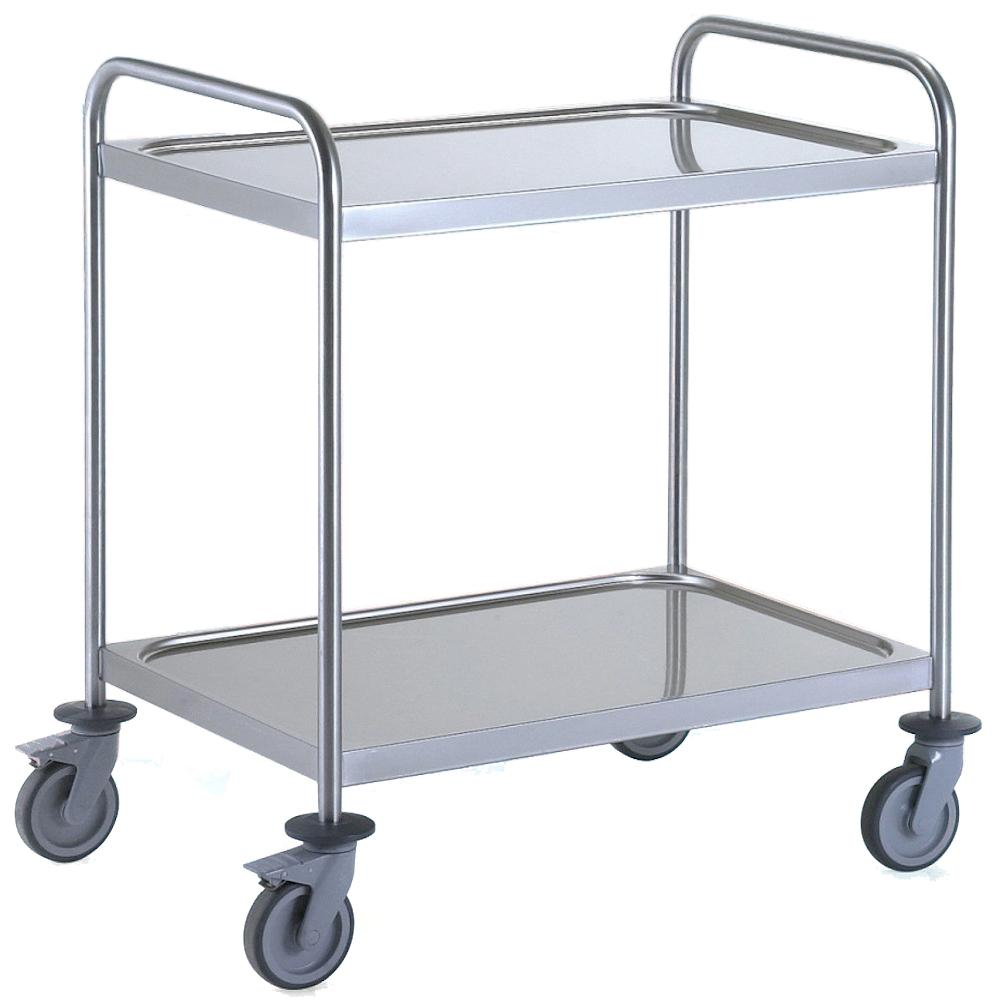 General Purpose Trolley Medium 2 Tier Stainless Steel