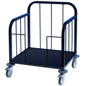 Tray Dispenser Trolley Black