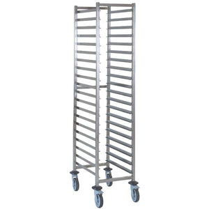 Patisserie Trolley 20 Tier Stainless Steel