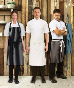 Bidfood Black Waist Apron - Pack of 5