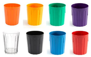 Polycarbonate Fluted Tumbler 22cl