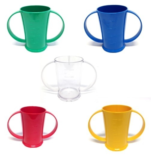 Polycarbonate Two Handled Beaker 20cl
