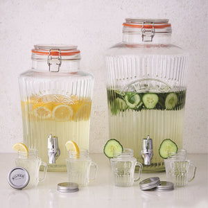 Kilner Clip Top Vintage Drinks Dispenser 5 litre