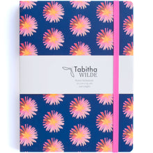 Load image into Gallery viewer, Tabitha Wilde Flower Notebook with Pocket