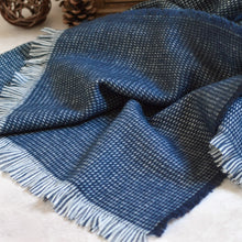 Load image into Gallery viewer, Huxley Fine Houndstooth Unisex Scarf with Feathered Edges