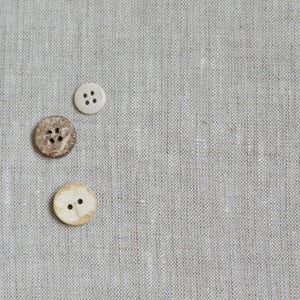 Linen Fabric Medium-Heavy Natural Flax