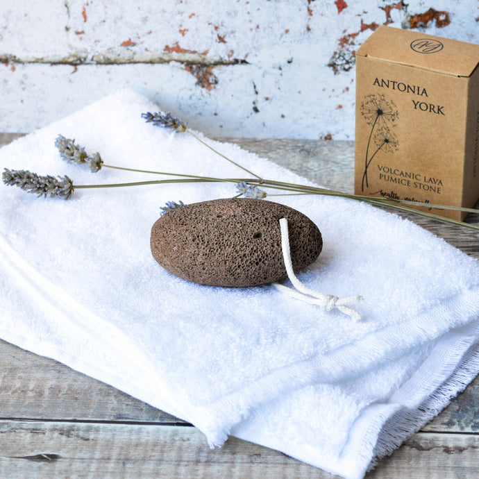 Pumice Stone & Bamboo Flannel Set