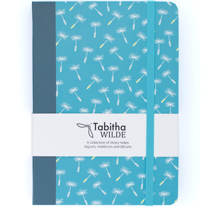 Tabitha Wilde Dandelion Sticky Note Notebook